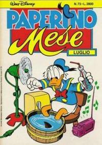 Cover Thumbnail for Paperino Mese (Arnoldo Mondadori Editore, 1986 series) #73