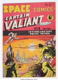 Cover Thumbnail for Space Comics (Arnold Book Company, 1953 series) #81