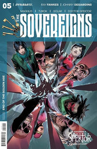 Cover Thumbnail for The Sovereigns (Dynamite Entertainment, 2017 series) #5 [Cover A Main]