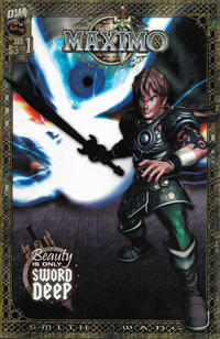 gcd issue maximo 1 glowing sword cover