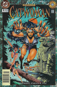 Cover Thumbnail for Catwoman Annual (DC, 1994 series) #1 [Newsstand]