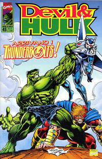 Cover Thumbnail for Devil & Hulk (Marvel Italia, 1994 series) #45