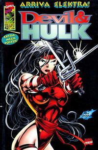 Cover Thumbnail for Devil & Hulk (Marvel Italia, 1994 series) #42