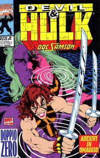 Cover Thumbnail for Devil & Hulk (Marvel Italia, 1994 series) #3
