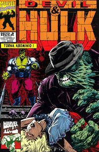 Cover Thumbnail for Devil & Hulk (Marvel Italia, 1994 series) #4