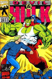 Cover Thumbnail for Devil & Hulk (Marvel Italia, 1994 series) #18