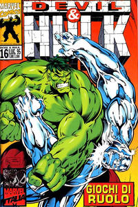 Cover Thumbnail for Devil & Hulk (Marvel Italia, 1994 series) #16