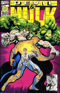 Cover Thumbnail for Devil & Hulk (Marvel Italia, 1994 series) #29