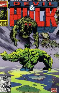 Cover Thumbnail for Devil & Hulk (Marvel Italia, 1994 series) #31