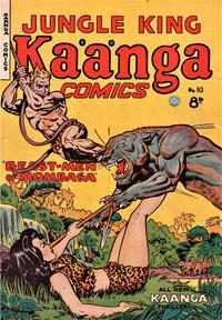 Cover Thumbnail for Kaänga Comics (H. John Edwards, 1950 ? series) #10