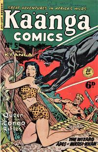 Cover Thumbnail for Kaänga Comics (H. John Edwards, 1950 ? series) #5
