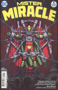 Cover Thumbnail for Mister Miracle (DC, 2017 series) #1 [Nick Derington Cover]