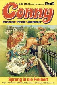 Cover Thumbnail for Conny (Bastei Verlag, 1980 series) #103