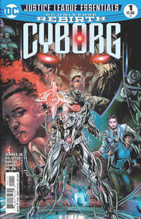 Cover Thumbnail for DC Justice League Essentials Cyborg #1 Rebirth (DC, 2017 series)