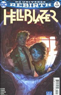 Cover Thumbnail for Hellblazer (DC, 2016 series) #9 [Yasmine Putri Cover Variant]