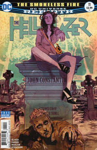 Cover Thumbnail for Hellblazer (DC, 2016 series) #11