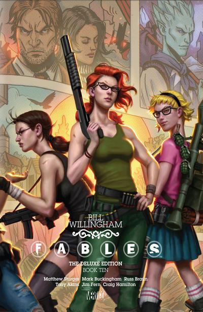 Cover for Fables: The Deluxe Edition (DC, 2009 series) #10