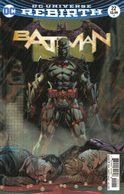 Cover for Batman (DC, 2016 series) #22 [Jason Fabok Lenticular Variant]