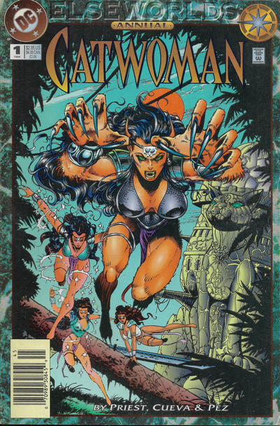 Cover for Catwoman Annual (DC, 1994 series) #1