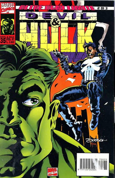 Cover for Devil & Hulk (Marvel Italia, 1994 series) #35