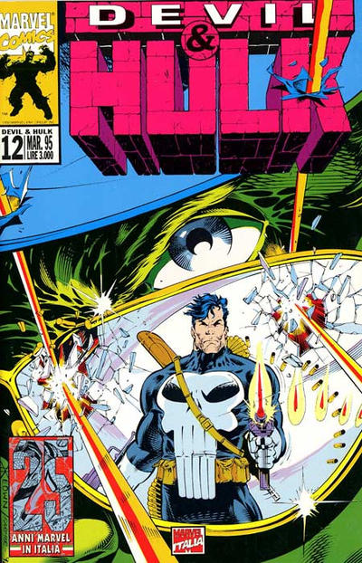 Cover for Devil & Hulk (Marvel Italia, 1994 series) #12