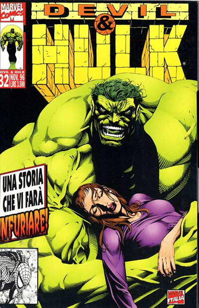 Cover for Devil & Hulk (Marvel Italia, 1994 series) #32