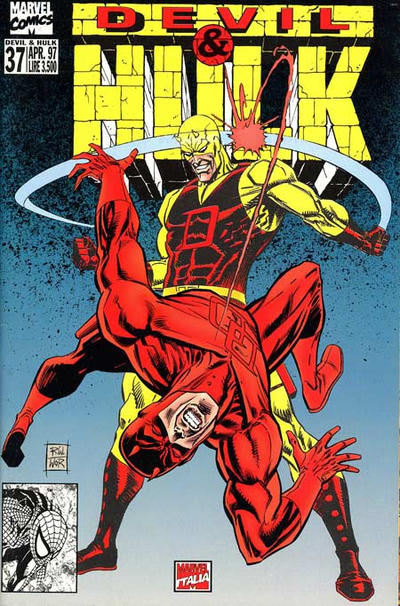 Cover for Devil & Hulk (Marvel Italia, 1994 series) #37