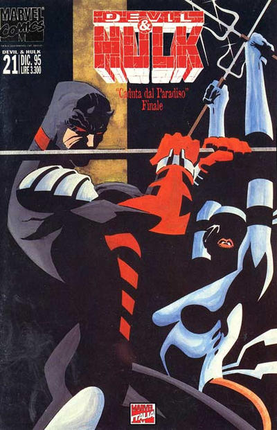 Cover for Devil & Hulk (Marvel Italia, 1994 series) #21