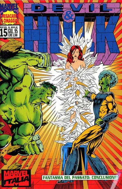 Cover for Devil & Hulk (Marvel Italia, 1994 series) #15