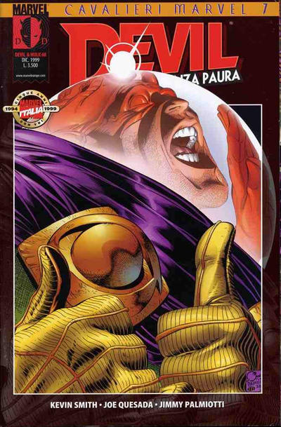 Cover for Devil & Hulk (Marvel Italia, 1994 series) #68