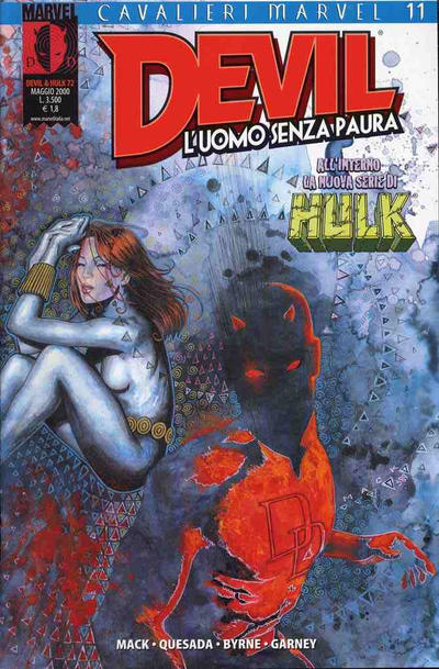 Cover for Devil & Hulk (Marvel Italia, 1994 series) #72