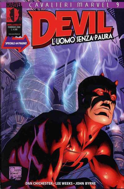 Cover for Devil & Hulk (Marvel Italia, 1994 series) #70