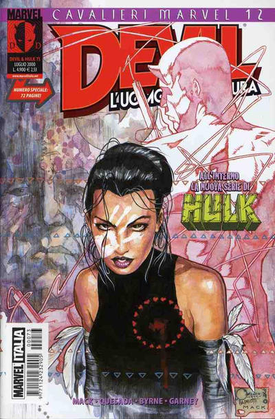 Cover for Devil & Hulk (Marvel Italia, 1994 series) #73