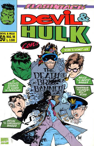 Cover for Devil & Hulk (Marvel Italia, 1994 series) #50