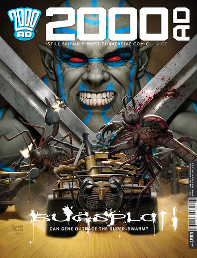 Cover for 2000 AD (Rebellion, 2001 series) #1963