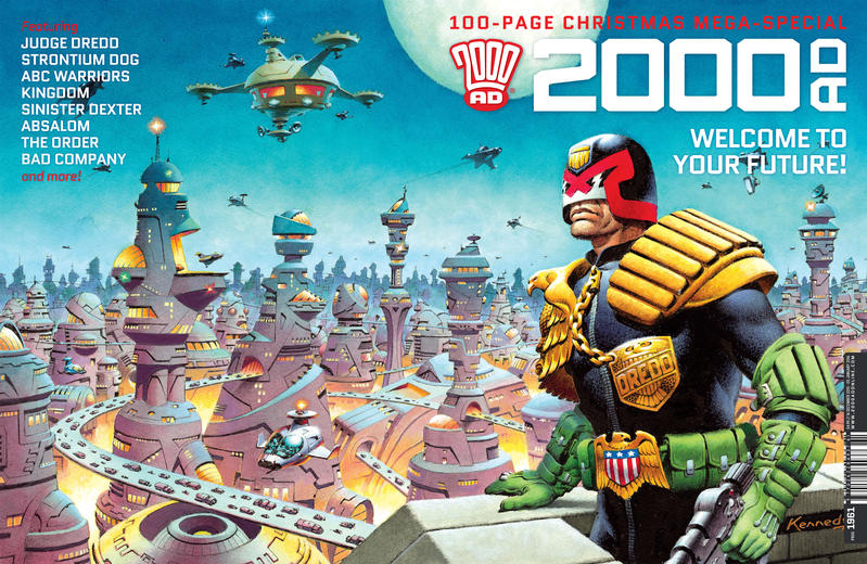 Cover for 2000 AD (Rebellion, 2001 series) #1961
