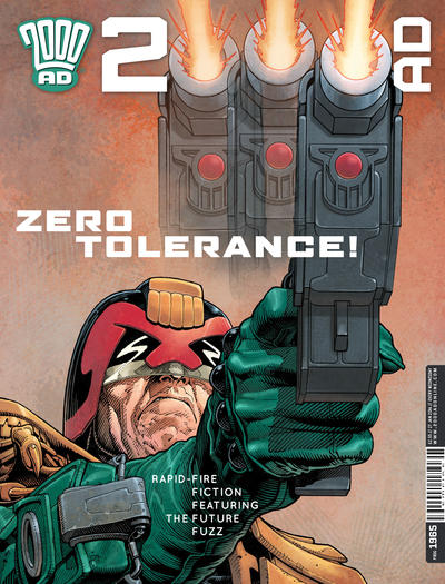 Cover for 2000 AD (Rebellion, 2001 series) #1965