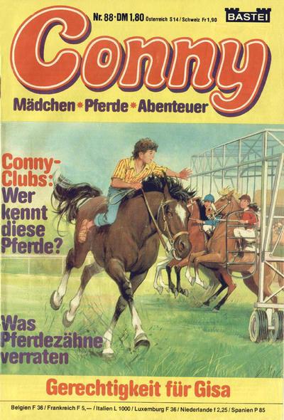Cover for Conny (Bastei Verlag, 1980 series) #88