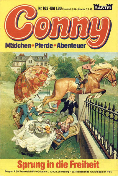 Cover for Conny (Bastei Verlag, 1980 series) #103