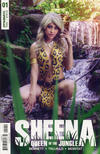 Cover for Sheena Queen of the Jungle (Dynamite Entertainment, 2017 series) #1 [Cover E Cosplay]