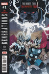Cover for Generations: Unworthy Thor & Mighty Thor (Marvel, 2017 series) #1