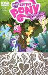 Cover for My Little Pony: Friendship Is Magic (IDW, 2012 series) #27 [Cover B - Tony Fleecs]