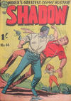 Cover for The Shadow (Frew Publications, 1952 series) #44