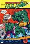 Cover for Hulk (Atlantic Forlag, 1980 series) #4/1980