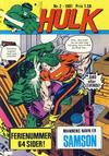 Cover for Hulk (Atlantic Forlag, 1980 series) #2/1981