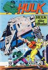 Cover for Hulk (Atlantic Forlag, 1980 series) #11/1981