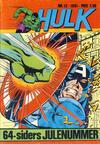 Cover for Hulk (Atlantic Forlag, 1980 series) #12/1981