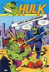 Cover for Hulk (Atlantic Forlag, 1980 series) #6/1981