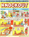 Cover for Knockout (IPC, 1971 series) #11 November 1972