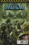 Cover for Totally Awesome Hulk (Marvel, 2016 series) #22 [Second Printing]